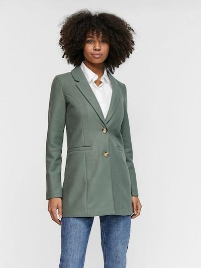 VERO MODA Mantel 'VMDAFNEJANEY' in grün, Modelansicht