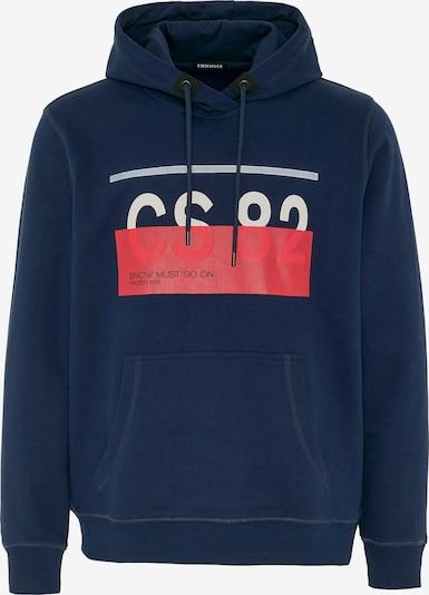 CHIEMSEE Športna majica 'LOREDO' | temno modra / rdeča / bela barva, Prikaz izdelka