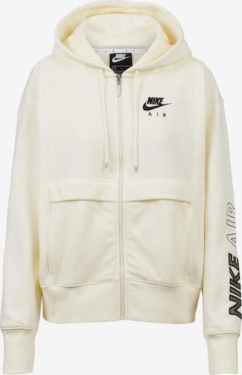 Nike Sportswear Sweatjacke in beige / schwarz, Produktansicht