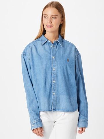 Polo Ralph Lauren - Blusa en azul