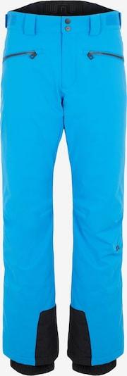 J.Lindeberg Outdoorbroek in de kleur Turquoise / Zwart, Productweergave