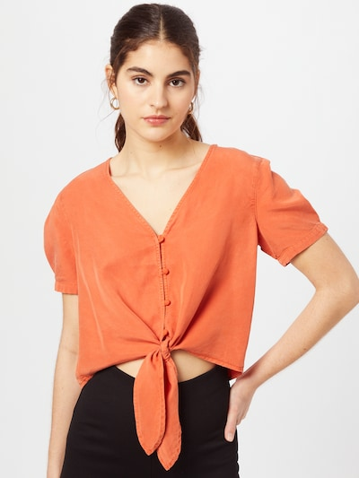 VILA Bluse 'VIMira' in orange, Modelansicht