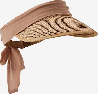 HALLHUBER Hut in beige / rosegold, Produktansicht