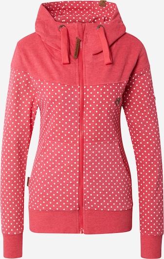 Alife and Kickin Sweatjacke 'Palina' in braun / pink / weiß, Produktansicht