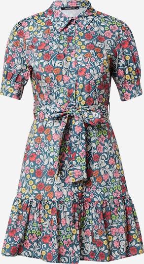 Trendyol Robe-chemise en bleu foncé / orange / rose / rouge clair / blanc, Vue avec produit