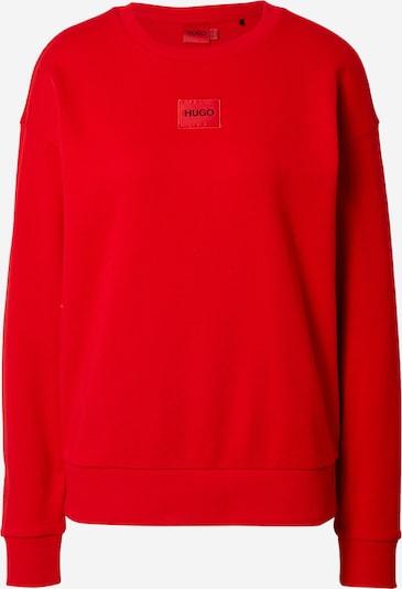 HUGO Sweatshirt 'Nakira' in hellrot / schwarz, Produktansicht