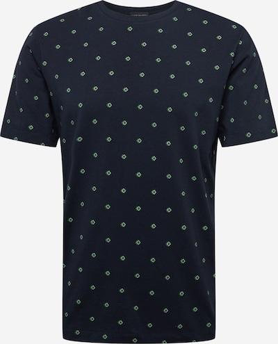 SCOTCH & SODA T-Shirt en bleu marine / vert / blanc, Vue avec produit