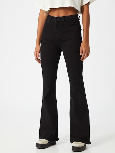 Džinsai iš NU-IN , spalva - juoda, Modelio vaizdas