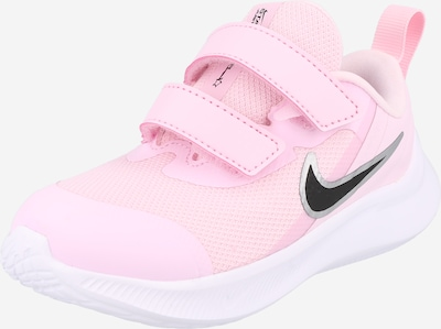 NIKE Athletic Shoes 'Runner 3' in Light pink / Black, Item view