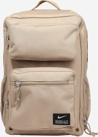 NIKE Sports Backpack 'Utility Speed' in Grey