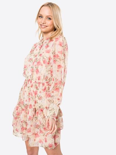 Neo Noir Kleid 'Bimba' in beige / grün / rosa, Modelansicht