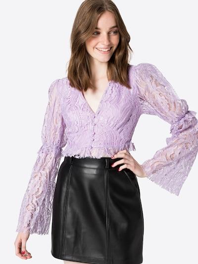 Trendyol Bluse in lila, Modelansicht