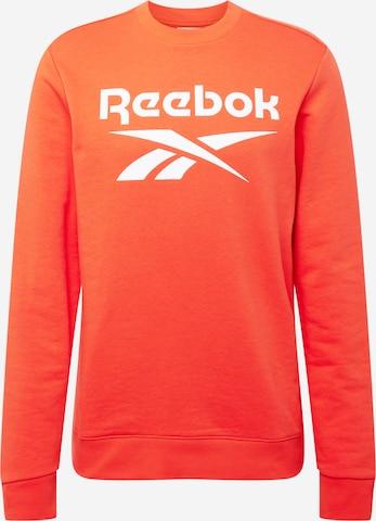 Sweat de sport Reebok Sport en orange