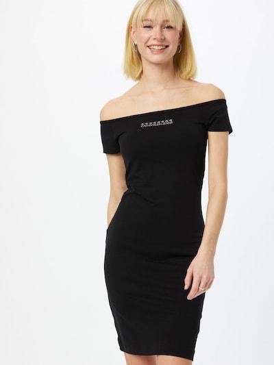 Calvin Klein Jeans Kjole i sort / hvid, Modelvisning