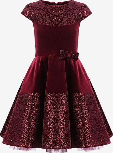 Gebriel Juno Kleid mit Kurzarm in rot, Produktansicht
