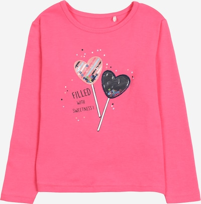 STACCATO Shirt in nachtblau / pink / altrosa / schwarz / weiß, Produktansicht