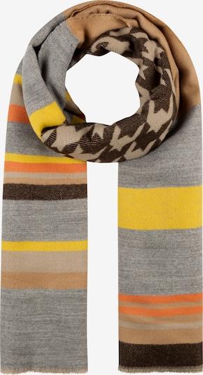 Šalikas 'COUNTRY LIFE' iš CODELLO , spalva - gelsvai pilka spalva / šviesiai ruda / geltona / pilka / juoda, Prekių apžvalga