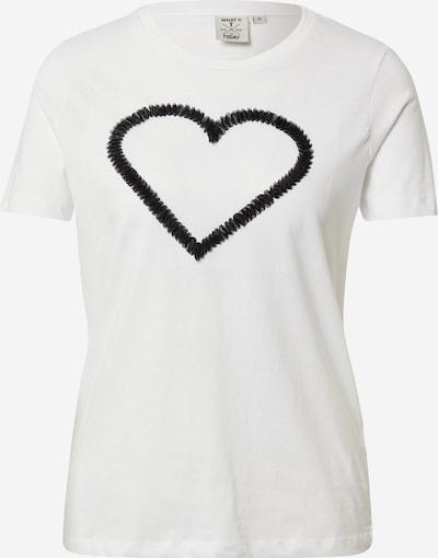 OVS Shirt 'SAN VALENTINO' in schwarz / weiß, Produktansicht