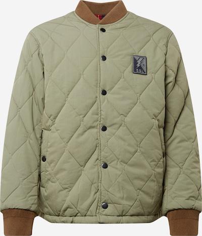DIESEL Starpsezonu jaka, krāsa - zamša / ābolu, Preces skats