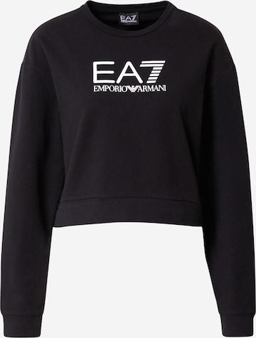 EA7 Emporio Armani Sweatshirt in Black