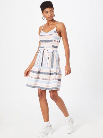 ABOUT YOU Šaty 'Daline' - modrá / bílá, Model/ka