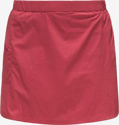 Haglöfs Jupe de sport 'Lite' en rouge, Vue avec produit
