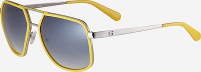 GUESS Slnečné okuliare - žltá / sivá / striebornosivá, Produkt