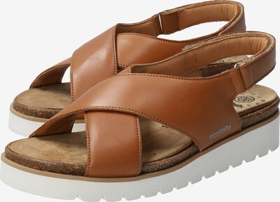 MOBILSergonomic Sandalette 'TALLY' in braun / hellbraun, Produktansicht