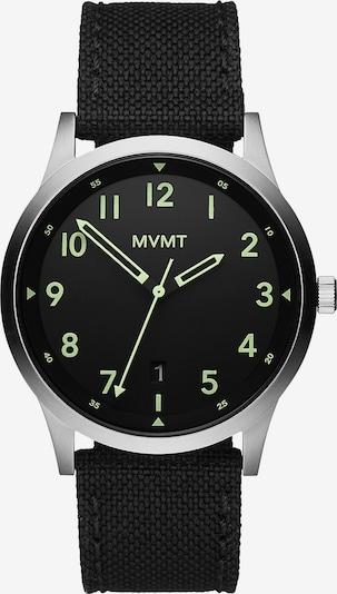 MVMT Uhr in schwarz / silber, Produktansicht