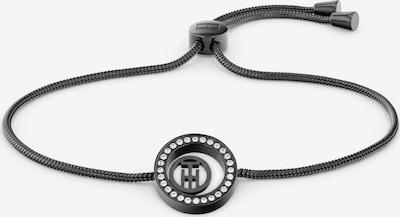 TOMMY HILFIGER Armband in schwarz / transparent, Produktansicht
