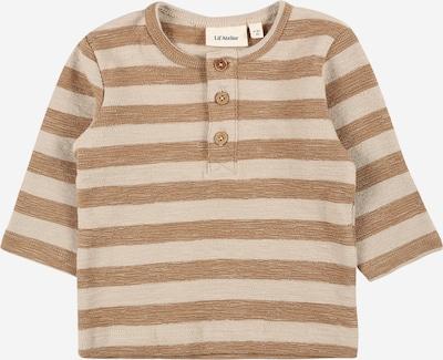 Lil ' Atelier Kids Camiseta en beige / marrón, Vista del producto