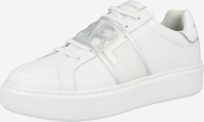 Karl Lagerfeld Zapatillas deportivas bajas 'Maxi Kup' en plata / blanco, Vista del producto