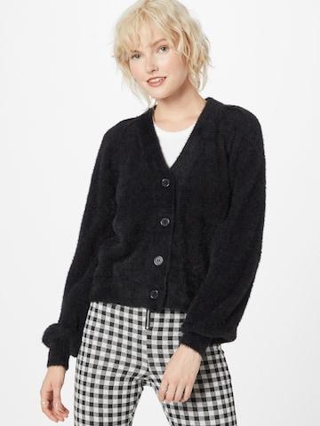 VILA Knit Cardigan in Black
