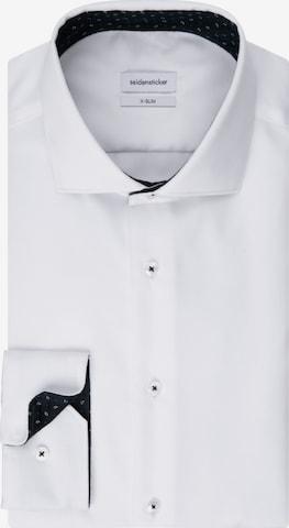 SEIDENSTICKER Business Shirt ' X-Slim ' in White