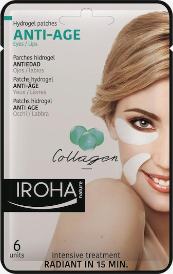 Iroha Patches 'Anti-Age Hydrogel' in weiß, Produktansicht
