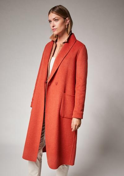 COMMA Between-Seasons Coat in Dark orange, View model