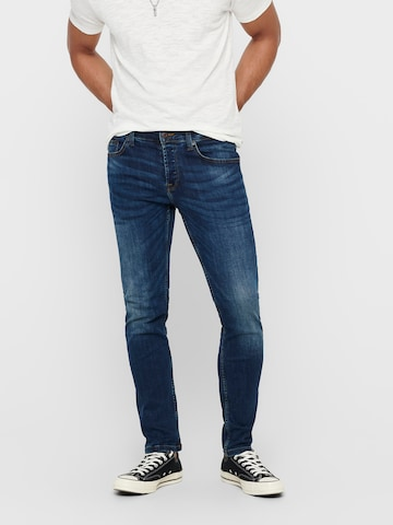 Only & Sons Jeans 'ONSWEFT LIFE' in Blau