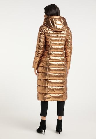 faina Winter Coat in Gold