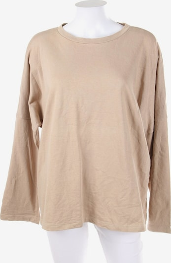 ZARA Sweatshirt in M in beige, Produktansicht