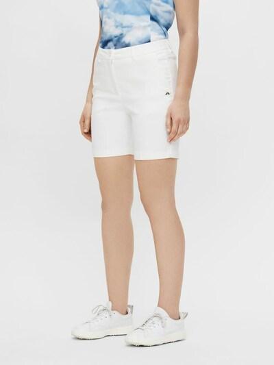 J.Lindeberg Sporthose 'Gwen' in weiß: Frontalansicht