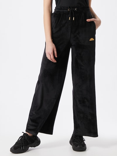 ELLESSE Spodnie 'Addobbi' w kolorze złoty / czarnym, Podgląd na modelu(-ce)