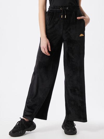 ELLESSE Trousers 'Addobbi' in gold / black, View model