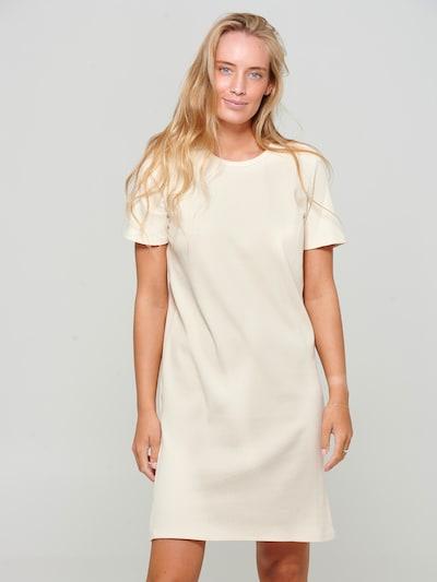 Noella Kleid in beige, Modelansicht