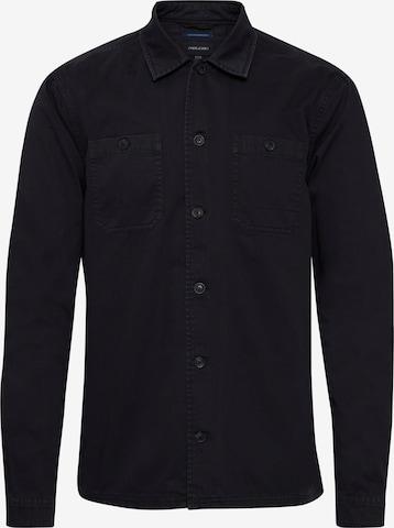 BLEND Hemd 'AVINO' in Schwarz