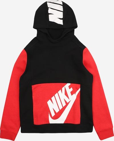 Nike Sportswear Mikina - červená / černá / bílá, Produkt