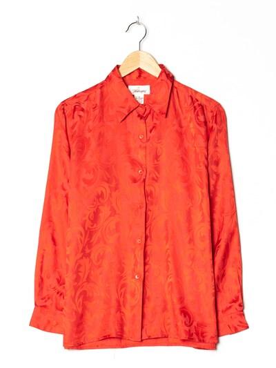 Worthington Bluse in M-L in rot, Produktansicht