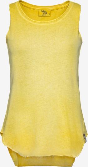Cotton Candy Trägertop 'Aurelia' in gelb, Produktansicht