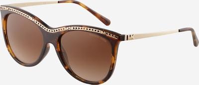 Michael Kors Sunčane naočale '0MK2141' u smeđa / tamno smeđa / zlatna, Pregled proizvoda
