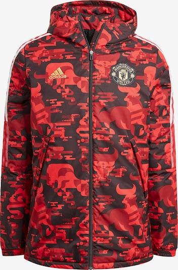 ADIDAS PERFORMANCE Jacke in rot / schwarz, Produktansicht