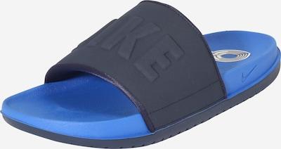 Nike Sportswear Mule 'Offcourt' en bleu marine / bleu roi, Vue avec produit